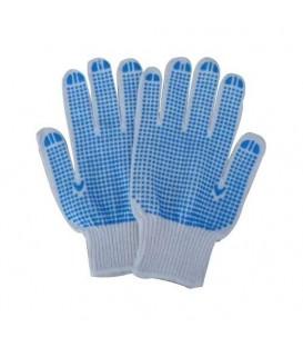 Megztos Tekstilės Pirštinės su PVC Taškeliais