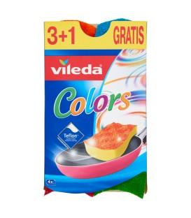 Kempinė Pur Active Colors, VILEDA, 3+1vnt.