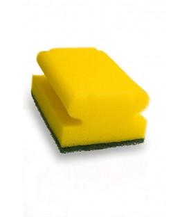 Kempinė šveitimui žaliu padu 9,5x7cm, 3vnt.