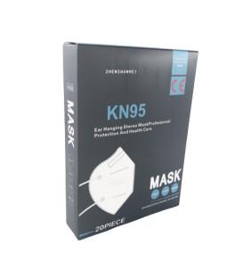Respiratorius kaukė KN95/FFP2, 10vnt.